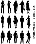 illustration of people... | Shutterstock .eps vector #11883115