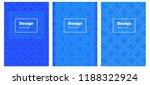 light blue vector brochure for...