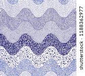 wavy blue white pattern drawn...   Shutterstock .eps vector #1188362977