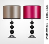 modern lamps | Shutterstock .eps vector #118836331