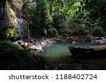 curtis falls in mount tamborine | Shutterstock . vector #1188402724