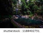 curtis falls in mount tamborine | Shutterstock . vector #1188402751