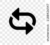 shuffle arrows vector icon...