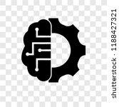 artificial intelligence vector... | Shutterstock .eps vector #1188427321
