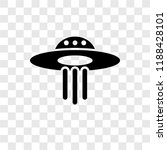 ufo vector icon isolated on... | Shutterstock .eps vector #1188428101