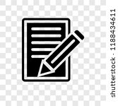 script vector icon isolated on... | Shutterstock .eps vector #1188434611