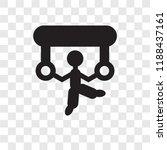 acrobat man vector icon...   Shutterstock .eps vector #1188437161