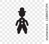 acrobat man vector icon...   Shutterstock .eps vector #1188437194