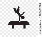 acrobat man vector icon...   Shutterstock .eps vector #1188437284