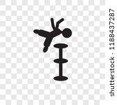 acrobat man vector icon...   Shutterstock .eps vector #1188437287