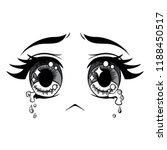 vector cartoon emoticon... | Shutterstock .eps vector #1188450517