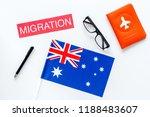 immigration to australia... | Shutterstock . vector #1188483607