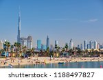 dubai   march 26  2018  dubai... | Shutterstock . vector #1188497827