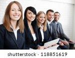successful businesswoman in... | Shutterstock . vector #118851619