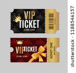 realistic detailed 3d vip... | Shutterstock .eps vector #1188546157