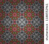 geometric gray  black and white ... | Shutterstock .eps vector #1188552961