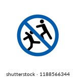 no rough play  swimming pool... | Shutterstock .eps vector #1188566344