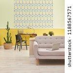 Pineapple Wallpaper Turquoise...