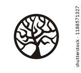 beautiful tree. vector... | Shutterstock .eps vector #1188571327