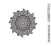 beautiful floral pattern... | Shutterstock .eps vector #1188572011