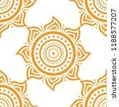 seamless background of sun.... | Shutterstock .eps vector #1188577207