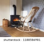 scandinavian interior  wood... | Shutterstock . vector #1188586981