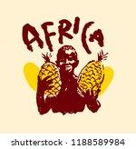 vector illustration of  native... | Shutterstock .eps vector #1188589984