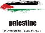palestine vector flag | Shutterstock .eps vector #1188597637