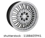 alloy wheel or rim or wheel of... | Shutterstock . vector #1188605941