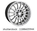 alloy wheel or rim or wheel of... | Shutterstock . vector #1188605944
