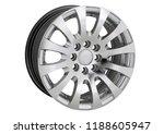alloy wheel or rim or wheel of... | Shutterstock . vector #1188605947