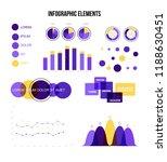 infographic elements  global... | Shutterstock .eps vector #1188630451