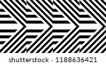 seamless pattern with striped... | Shutterstock .eps vector #1188636421