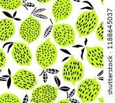 lime seamless pattern. citrus... | Shutterstock .eps vector #1188645037