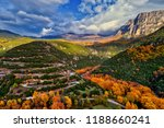 aerial view of the the vikos... | Shutterstock . vector #1188660241
