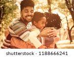 family love. african american... | Shutterstock . vector #1188666241