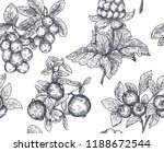 vector seamless pattern with... | Shutterstock .eps vector #1188672544