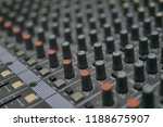 mixers mixing console audio...   Shutterstock . vector #1188675907