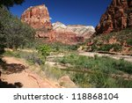 Small photo of Zion National Park in Utah - USA