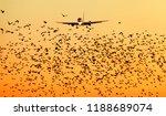 modern passenger jet engine... | Shutterstock . vector #1188689074