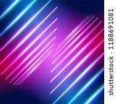 bright neon lines ultraviolet...   Shutterstock .eps vector #1188691081