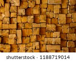 wooden wall in the background | Shutterstock . vector #1188719014