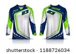 t shirt sport design template ... | Shutterstock .eps vector #1188726034