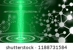 abstract background technology... | Shutterstock .eps vector #1188731584