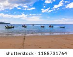 nai yang beach   surroundings... | Shutterstock . vector #1188731764