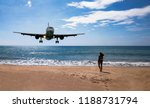 nai yang beach   surroundings... | Shutterstock . vector #1188731794