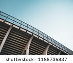minimalistic view of a tribune... | Shutterstock . vector #1188736837