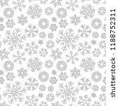 christmas pattern from... | Shutterstock .eps vector #1188752311