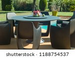 dining table with chairs and... | Shutterstock . vector #1188754537