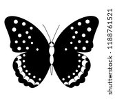 vector  isolated  butterfly ... | Shutterstock .eps vector #1188761521